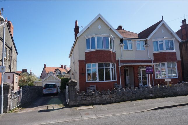 Thumbnail Semi-detached house for sale in Everard Road, Colwyn Bay