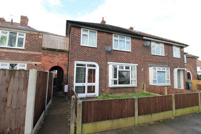 Thumbnail Semi-detached house to rent in Kingsway Park, Davyhulme