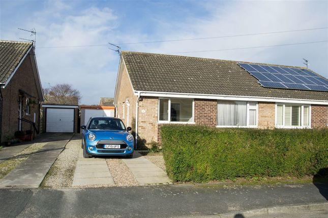 Thumbnail Semi-detached bungalow to rent in Keble Close, Bishopthorpe, York