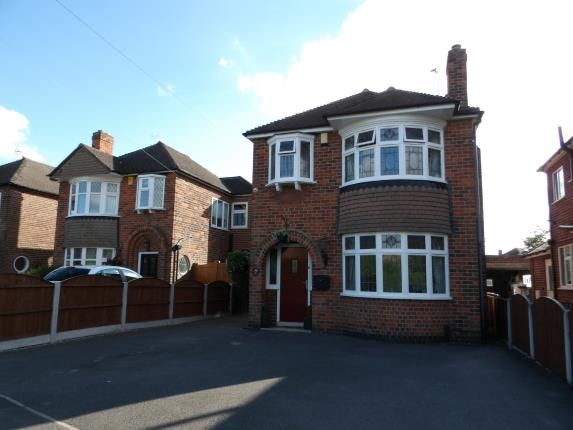 Thumbnail Detached house for sale in Derby Road, Chellaston, Derby, Derbyshire