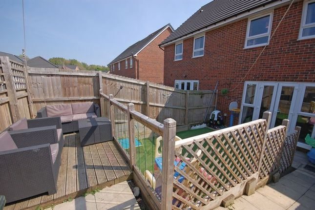 Rear Garden of Northumbrian Way, Killingworth, Newcastle Upon Tyne NE12