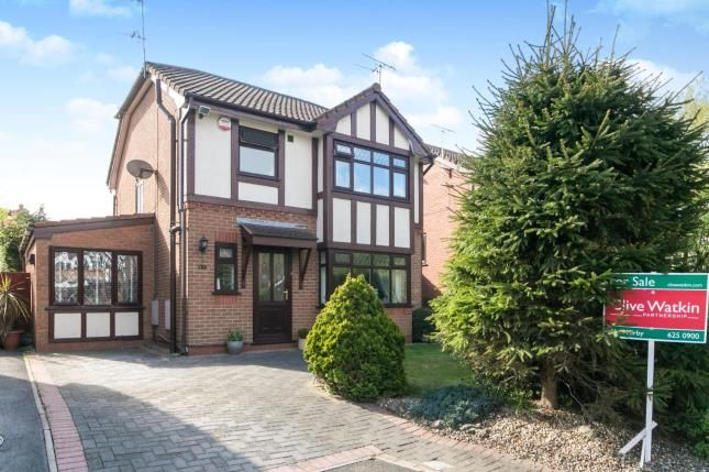 Thumbnail Detached house for sale in Furness Close, Upton, Wirral