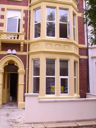 Thumbnail Flat to rent in 60, Connaught Road, Roath, Cardiff, South Wales