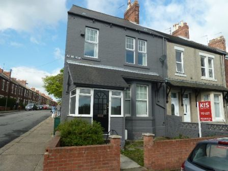 Thumbnail End terrace house to rent in Roland Road, Wallsend NE28, Wallsend,
