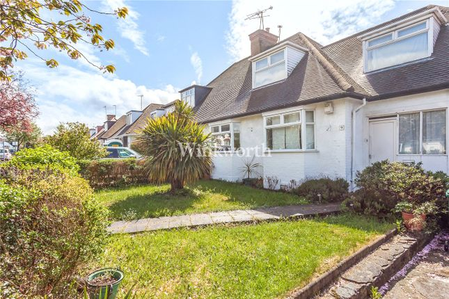Thumbnail Semi-detached bungalow for sale in Sanderstead Avenue, London