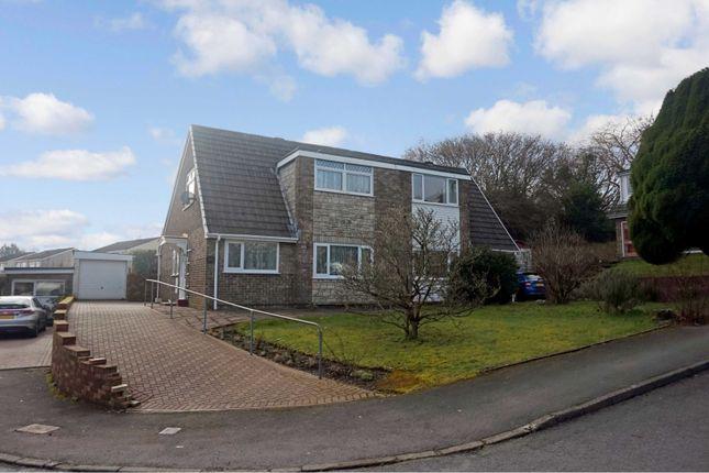Thumbnail Semi-detached bungalow for sale in Cheriton Avenue, Hengoed