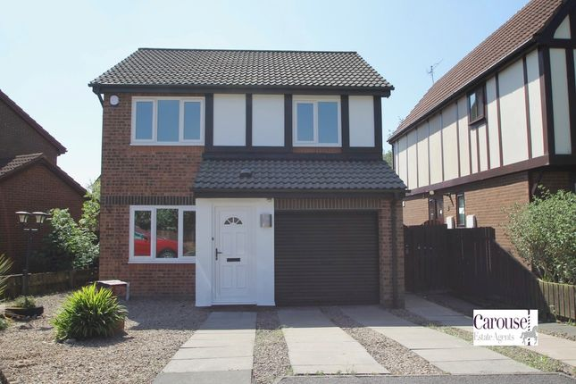 Thumbnail Detached house to rent in Glanville Close, Gateshead