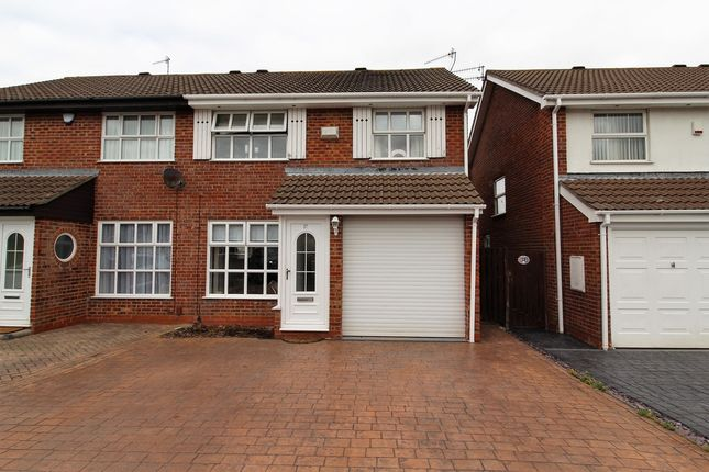 Thumbnail Semi-detached house to rent in Smyth Croft, Windways, Bristol