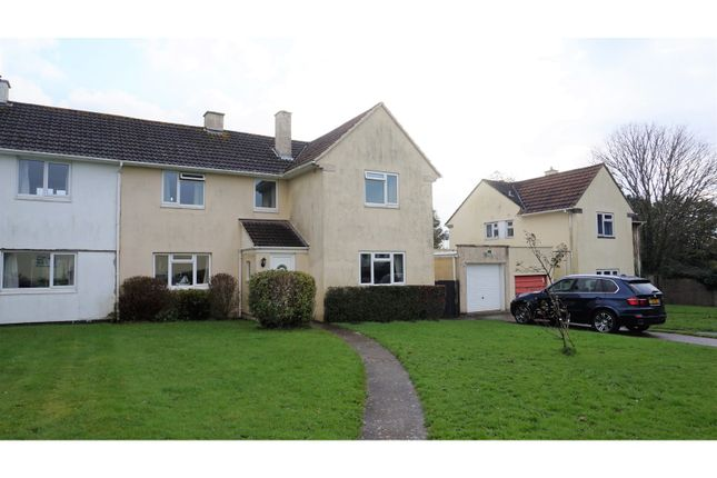 Thumbnail Semi-detached house for sale in Pencair Avenue, Torpoint