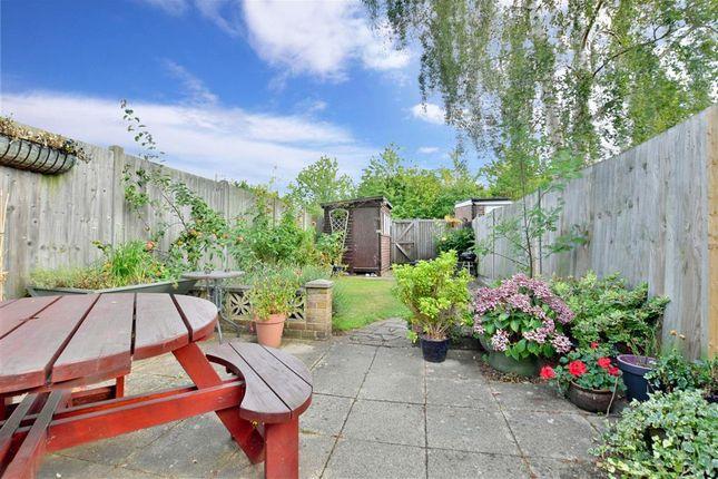Rear Garden of Loose Road, Maidstone, Kent ME15