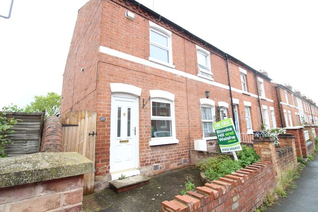 Thumbnail End terrace house to rent in Foley Street, Hereford