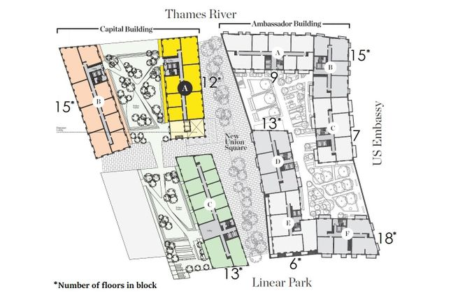 New Home 2 Bed Flat For Sale In Ambassador Building Embassy - Us-embassy-london-map