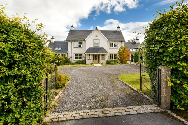 Thumbnail Detached house for sale in Martin Gardens, Muthill, Crieff, Perthshire