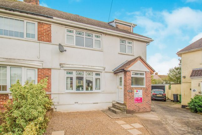Thumbnail Semi-detached house for sale in Caeglas Avenue, Rumney, Cardiff