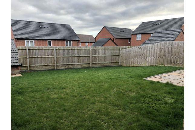 Rear Garden of Jenham Drive, Sileby, Loughborough LE12