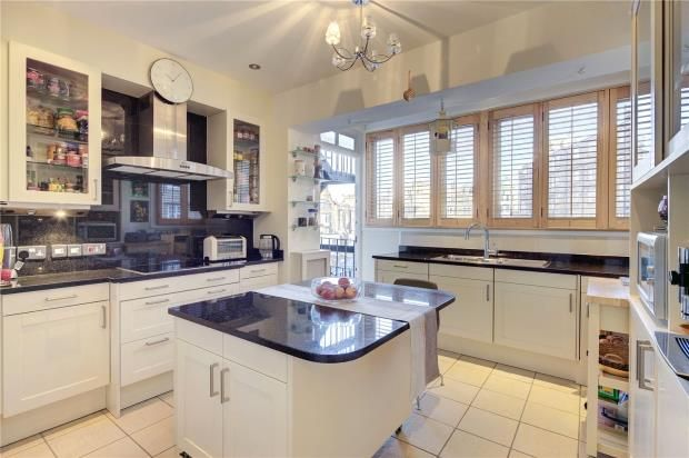 Kitchen of Lanchester Court, Seymour Street, London W2