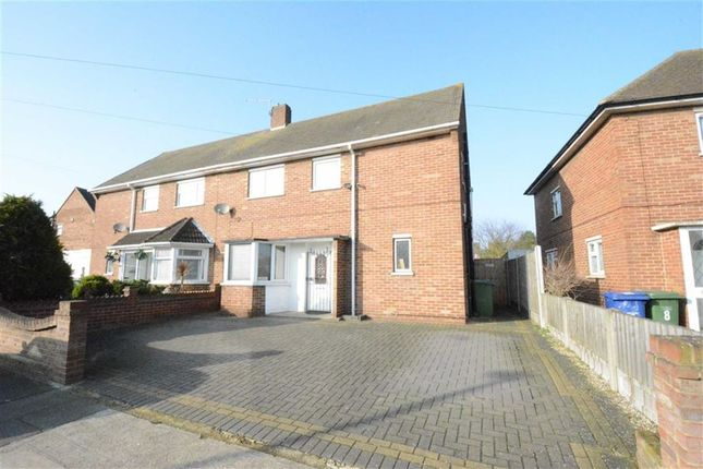 Thumbnail Semi-detached house for sale in Central Avenue, Aveley Village, Essex