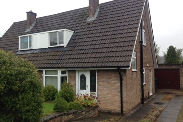 Thumbnail Semi-detached bungalow to rent in Moorwoods Avenue, Chapeltown, Sheffield