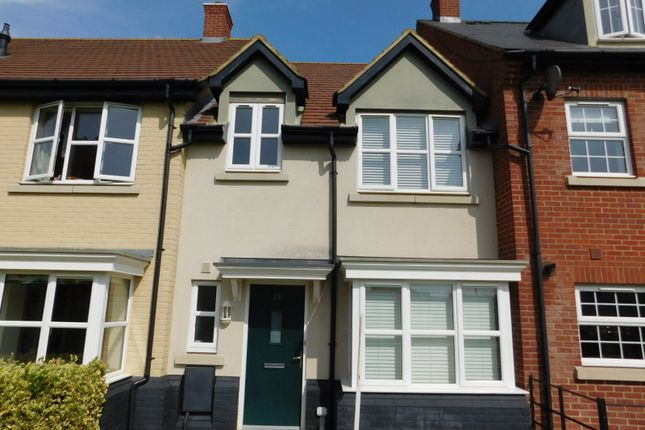 Thumbnail Terraced house for sale in Meadow Walk, Henlow, Beds