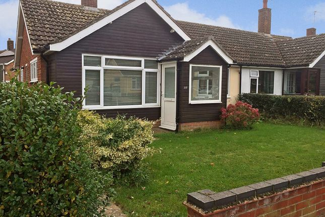 Thumbnail Semi-detached bungalow for sale in Bedingfield Crescent, Halesworth