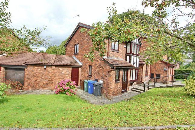 External of Hamilton Close, Prestwich, Manchester M25