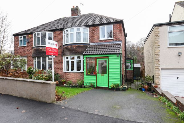 Thumbnail Semi-detached house for sale in Milldale Road, Totley Rise, Sheffield