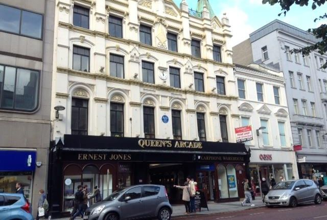 Thumbnail Retail premises to let in Unit 25/27, Queens Arcade, Belfast, County Antrim