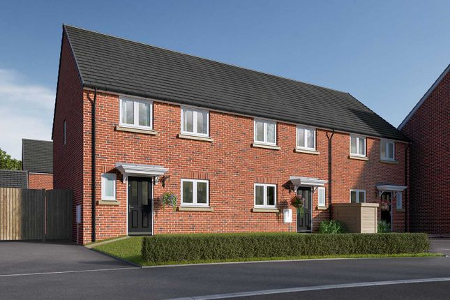 """Semi-detached house for sale in """"The Eveleigh"""" at Roecliffe Lane, Boroughbridge, York"""