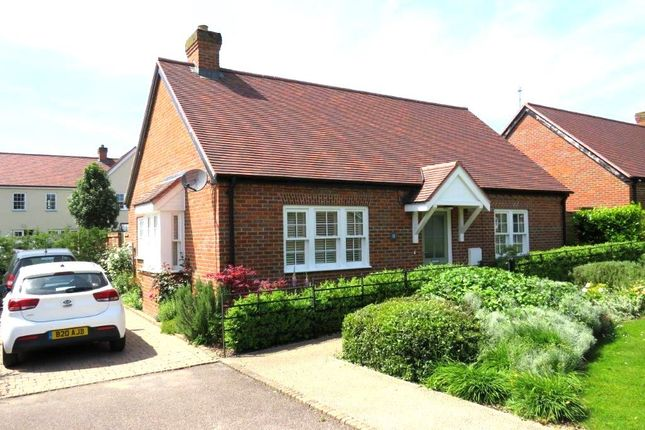Thumbnail Detached bungalow for sale in Periwinkle Close, Barkway, Royston