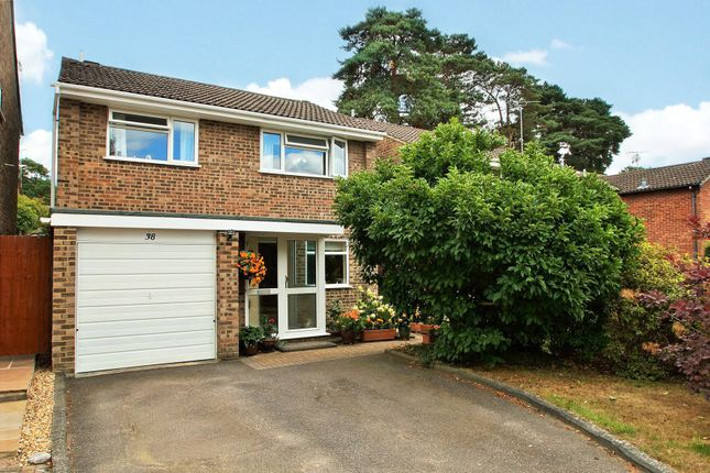 Thumbnail Detached house for sale in Balliol Way, Owlsmoor, Sandhurst, Berkshire