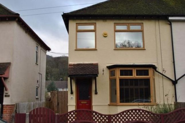 Thumbnail Semi-detached house to rent in Crescent Road, Risca, Newport