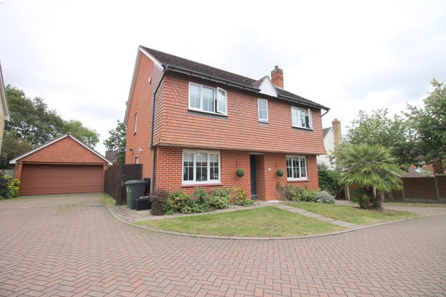 Thumbnail Detached house for sale in Everett Close, Cheshunt, Waltham Cross