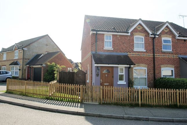 3 bed semi-detached house to rent in Albert Gardens, Church Langley, Harlow CM17