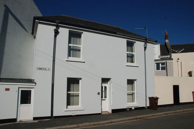 Thumbnail Terraced house to rent in Commercial Place, Plymouth
