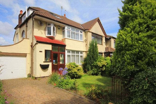Semi-detached house for sale in Edenhurst Avenue, Childwall, Liverpool