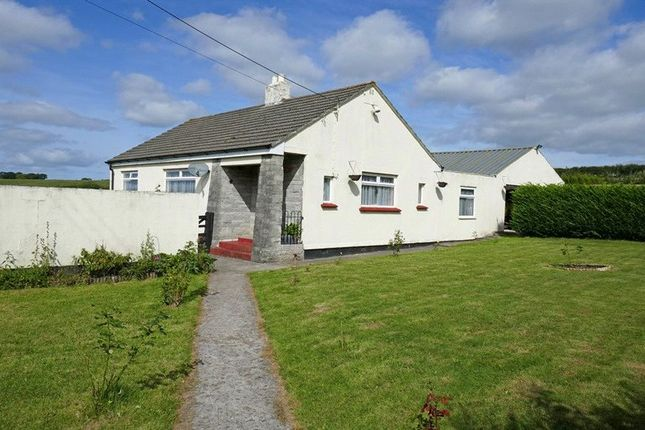 Thumbnail Bungalow For Sale In St Giles On The Heath Launceston