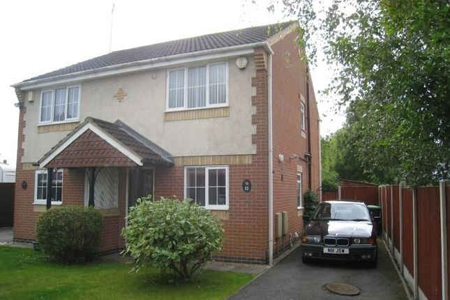 Thumbnail Semi-detached house to rent in Lindleys Court Lindleys Lane, Kirkby-In-Ashfield, Nottingham