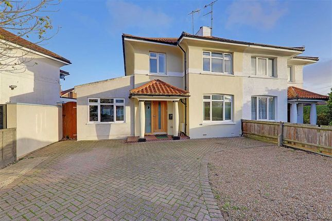 Thumbnail Semi-detached house for sale in Broomfield Avenue, Thomas A Becket, Worthing, West Sussex