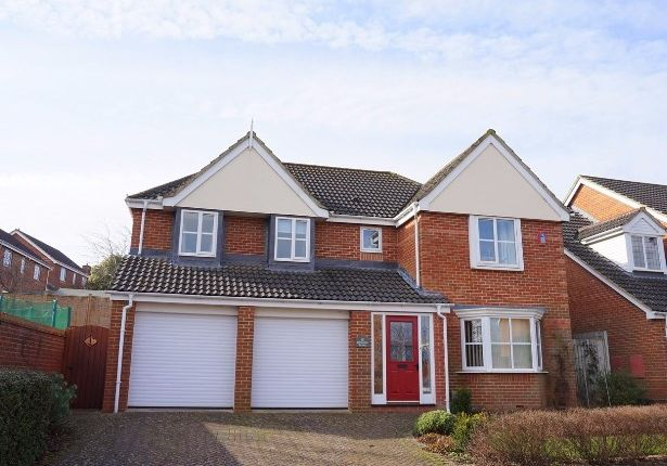 Thumbnail Detached house for sale in Longhill Drive, Salisbury