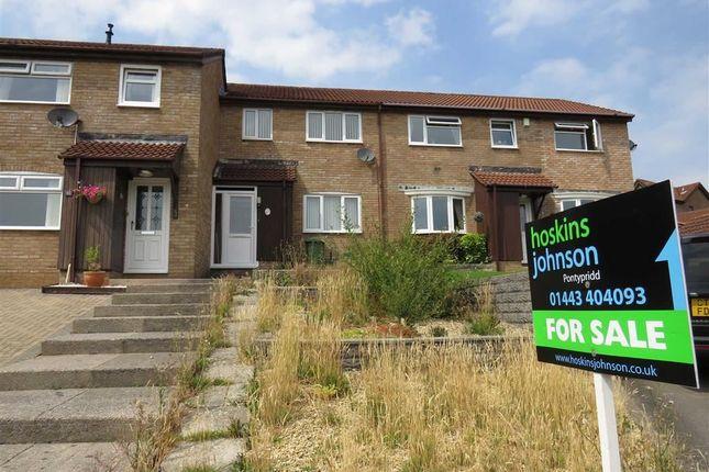 Thumbnail Terraced house for sale in Llys Garth, Llantwit Fardre, Pontypridd