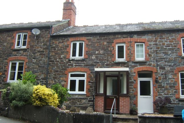 Thumbnail Terraced house to rent in Kensey View, Launceston