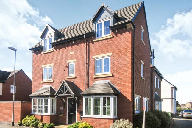 Thumbnail Detached house for sale in John Frear Drive, Syston, Leicester, Leicestershire