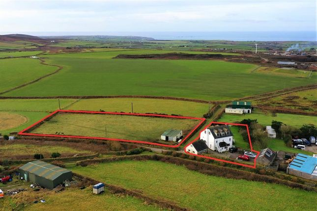 Thumbnail Detached house for sale in Farmhouse And Separate Apartment, Penzance, Cornwall