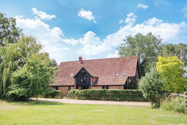 Thumbnail Barn conversion for sale in Mattishall Road, East Tuddenham, Dereham