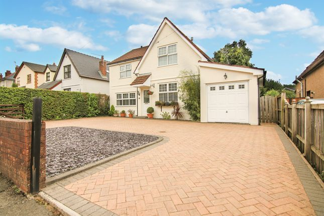 Thumbnail Detached house for sale in The Highway, Croesyceiliog, Cwmbran
