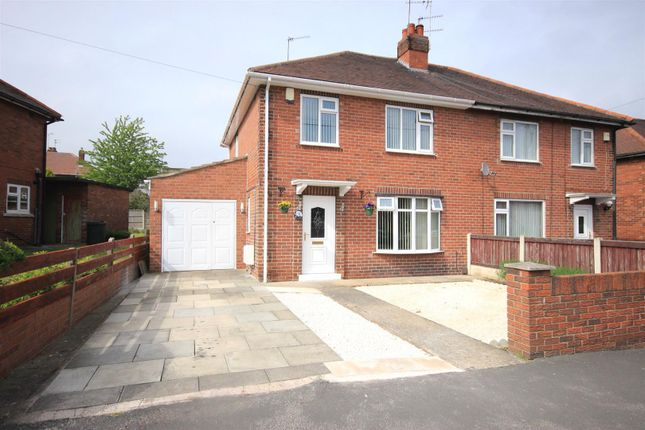 Thumbnail Semi-detached house for sale in Ballam Avenue, Scawthorpe, Doncaster