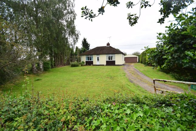 Detached bungalow for sale in The Chequer, Bronington, Whitchurch