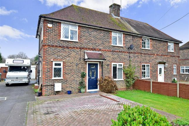 Thumbnail Semi-detached house for sale in Station Road, Southwater, Horsham, West Sussex