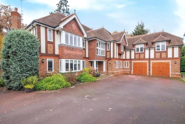Thumbnail Detached house to rent in Priory Road, Sunningdale, Ascot, Berkshire