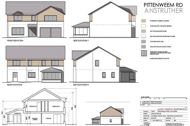 Thumbnail Detached house for sale in Pittenweem Road, Anstruther